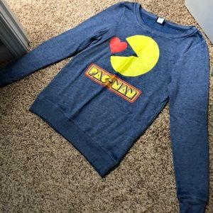 PacMan sweatshirt